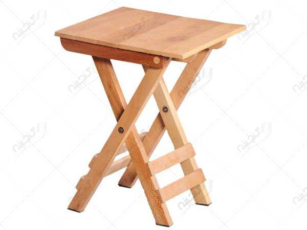 صندلی مسافرتی تاشو چوبی