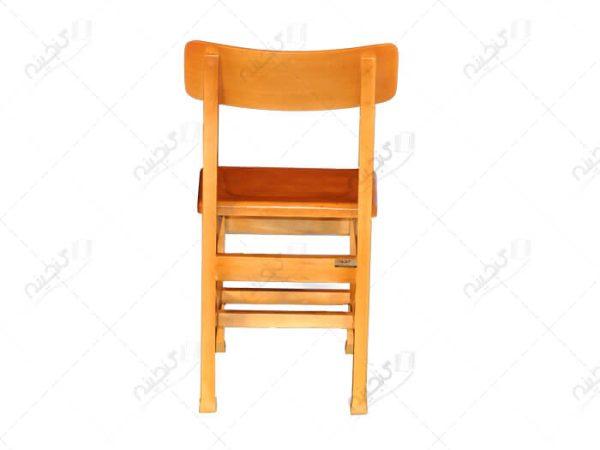 صندلی مطالعه پشت قوس دار