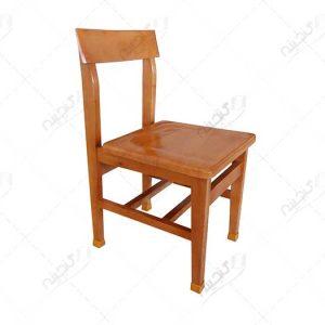 خرید صندلی مطالعه چوبی کتابخانه ای
