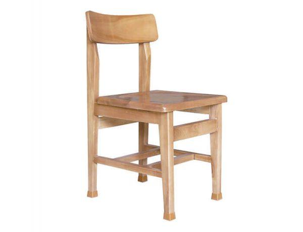 صندلی چوبی مطالعه (پشت قوس دار)