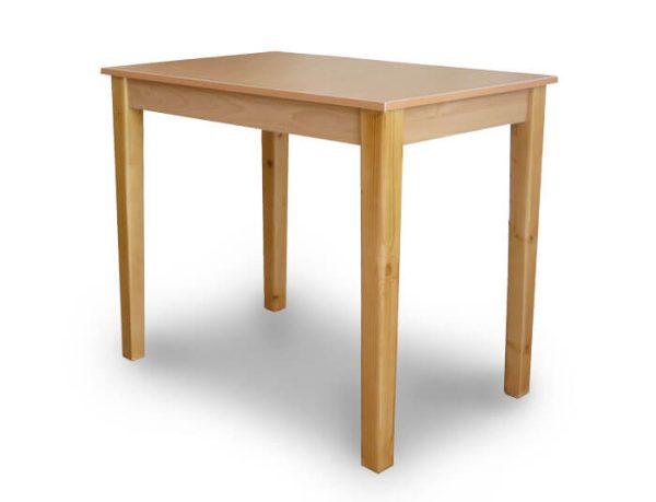 میز تحریر بدون مانع چوبی گنجینه