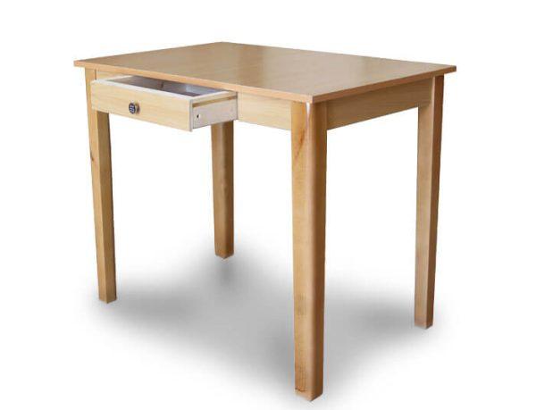 میز تحریر بدون مانع کشو دار چوبی گنجینه