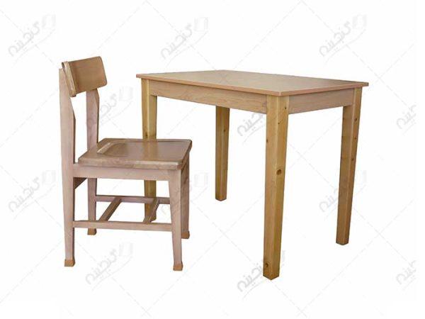 میز تحریر و میز مطالعه چوبی گنجینه
