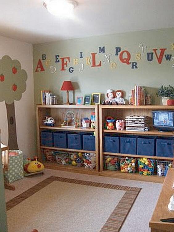 ساخت قفسه و کمد اسباب بازی کودک 22