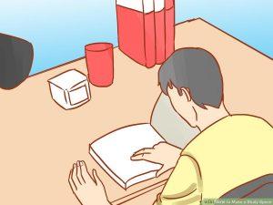فضای مطالعه اختصاصی هنگام مطالعه
