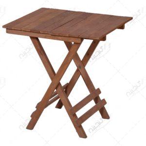 میز تاشو مسافرتی چوبی