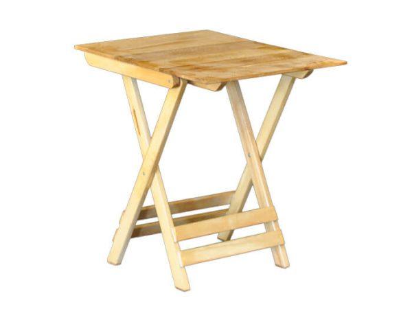 میز مسافرتی چوبی تاشو