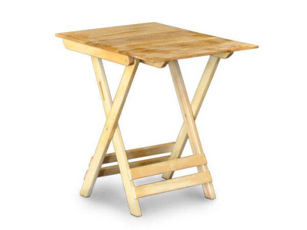 میز مسافرتی تاشو چوبی