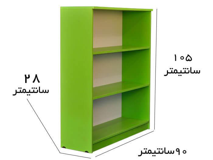 قفسه اسباب بازی و کتاب کودک