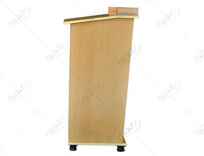 تریبون چوبی مدرن