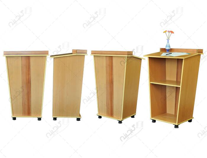 مدل تریبون چوبی