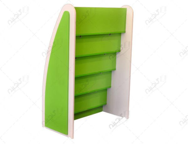 قفسه مجلات کودک برای خانه و کتابخانه