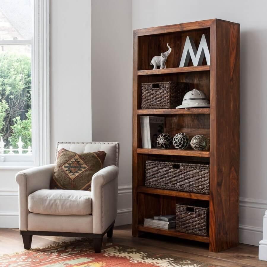 آموزش ساخت قفسه کتاب چوبی