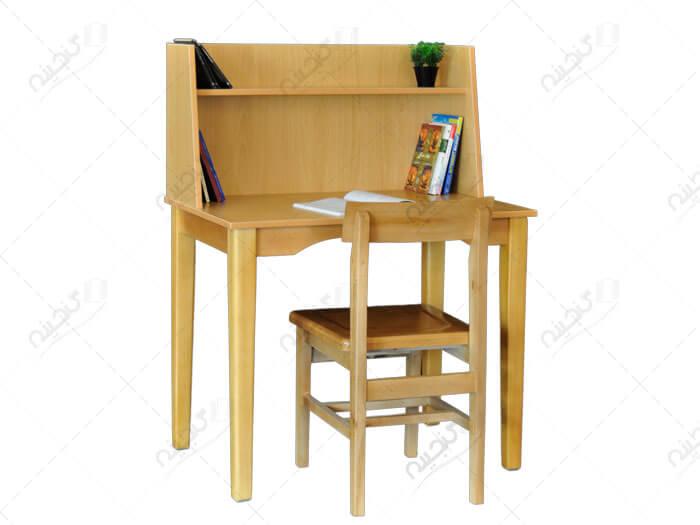 میز تحریر چوبی یک نفره گنجینه