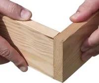 اتصال لب به لب در اتصالات چوب