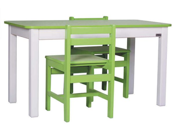 میز تحریر کودک چوبی گنجینه