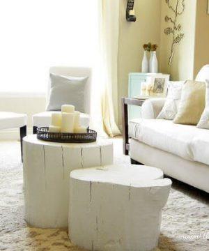 میز جلو مبلی تمام چوب مناسب برای کوراسیون داخلی منزل