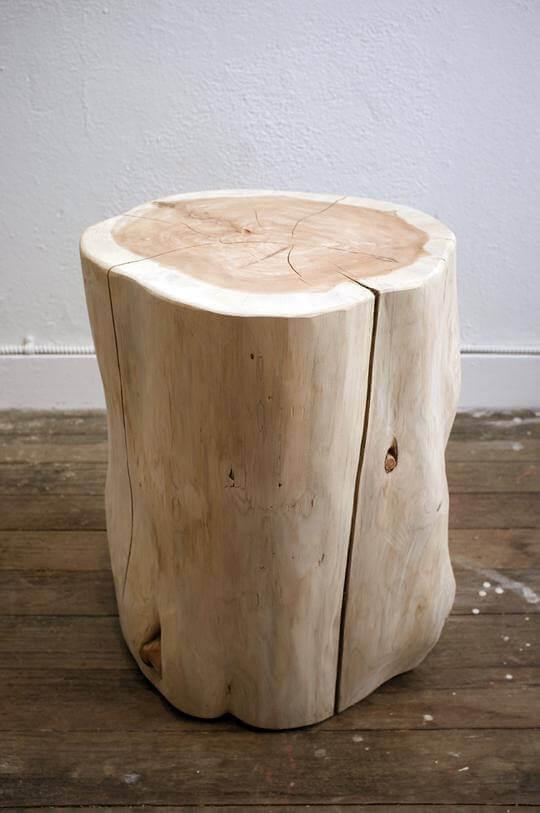 صندلیصندلی چوبی با استفاده از برش کنده های درخت مناسب برای دیزاین کافی شاپ و رستوران ها چوبی با استفاده از برش کنده های درخت مناسب برای دیزاین کافی شاپ و رستوران ها