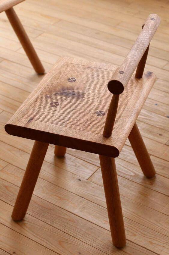 صندلی تمام چوب زیبا مناسب برای کوراسیون داخلی منزل
