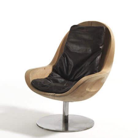 صندلی چوبی اداری با طراحی زیبا و وخارق العاده