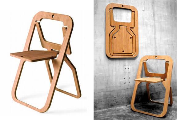 صندلی تاشوی چوبی تاشوی جدید