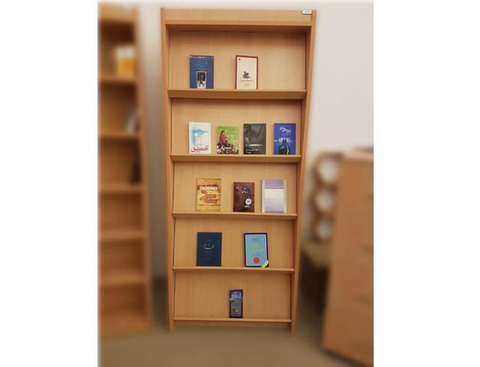 کتابخانه چوبی مجلات و کتاب گنجینه