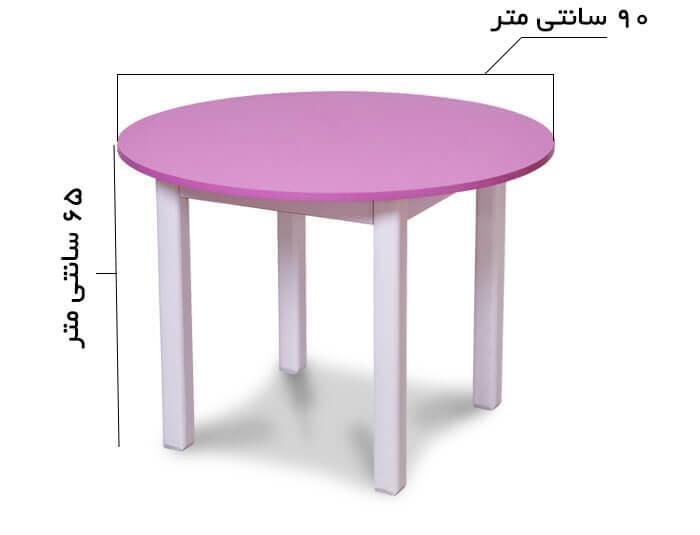 میز تحریر کودک گرد
