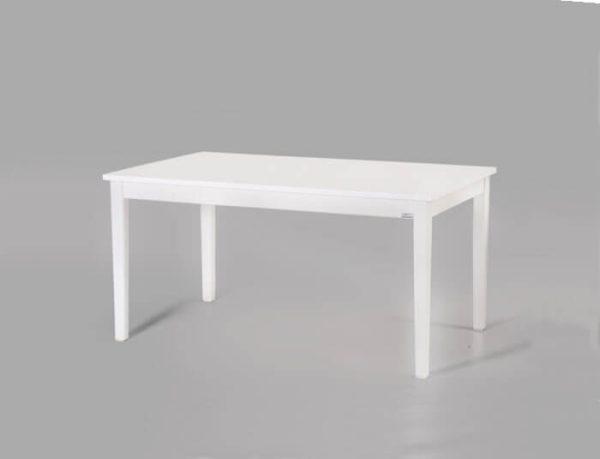 میز ناهار خوری چوبی شش نفره سفید