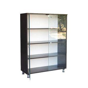 قفسه شیشه ای کوتاه - انواع میز تحریر | صندلی مطالعه | میز ناهار خوری |  کتابخانه خانگی | قفسه کتاب | قفسه اسباب بازی