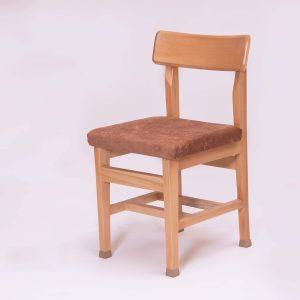 صندلی کف پارچه ای چوبی ارگونومیک