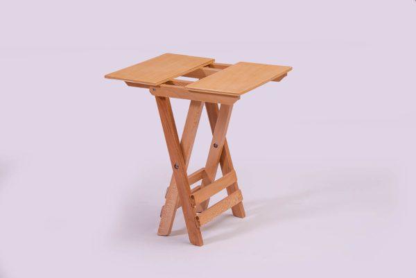 صندلی تاشو مسافرتی چوبی