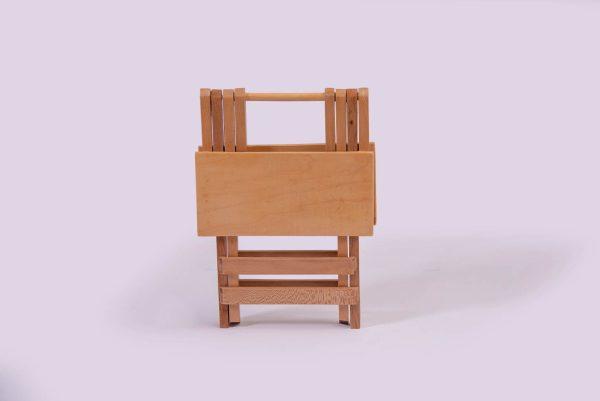 صندلی تاشو مسافرتی چوبی مخصوص کمپینگ