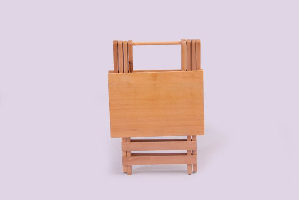 میز تاشو چوبی مسافرتی لاکچری