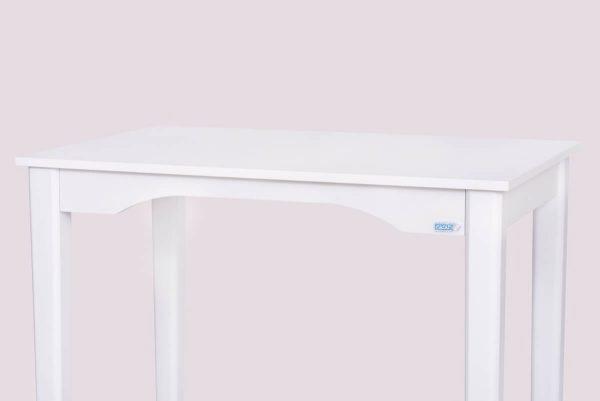 میز تحریر سفید بدون مانع