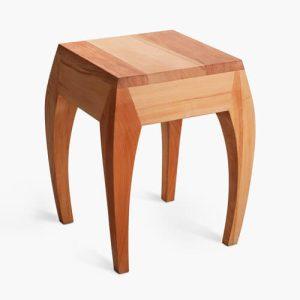 میز عسلی چوبی مدرن گنجینه