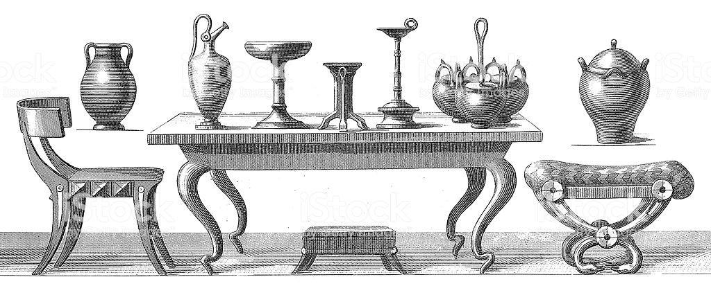 تاریخچه میز
