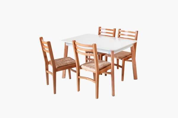 میز و صندلی چوبی ناهار خوری گنجینه