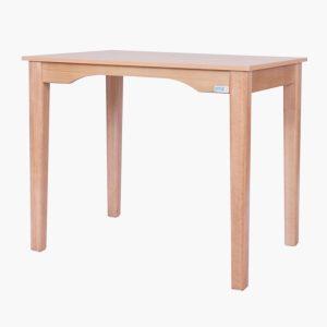 میز تحریر چوبی استاندارد بدون کشو رنگ راش