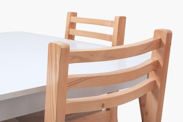 ست میز و صندلی ناهار خوری چوبی چهار نفره
