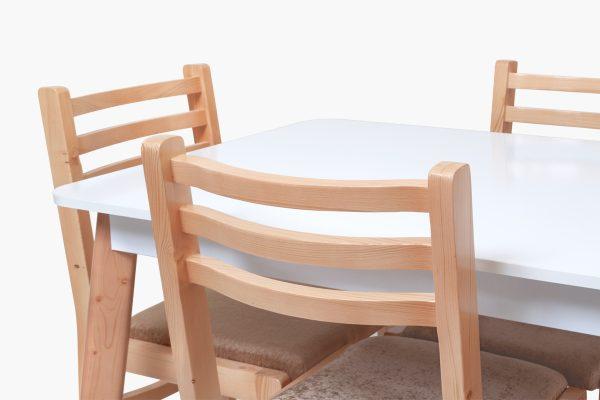 میز و صندلی ناهارخوری 4 نفره چوبی