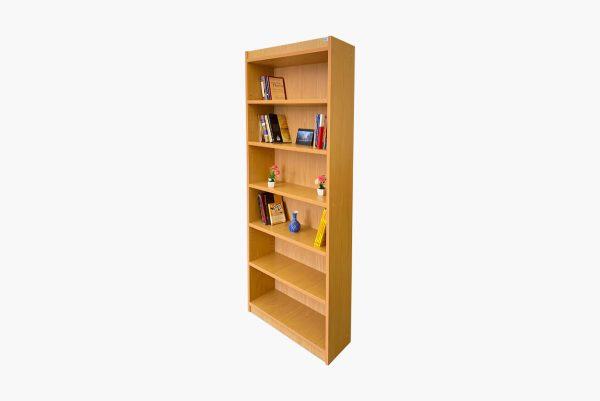 قفسه کتاب یکطرفه چوبی گنجینه