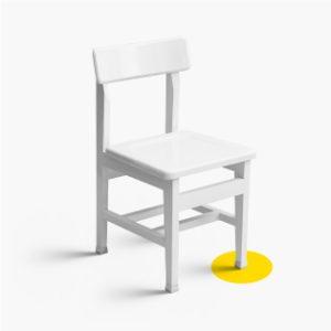 صندلی های کتابخانه ای