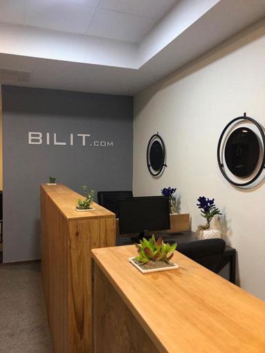 پروژه شرکت Bilit.com