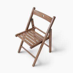 صندلی تاشو چوبی ایکیا مدل TERJE